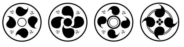 并帮业主设计专属日式家徽标志